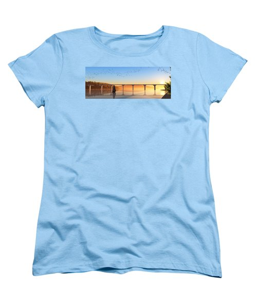 Sailing Out To Sea... Women's T-Shirt (Standard Cut) by Tim Fillingim