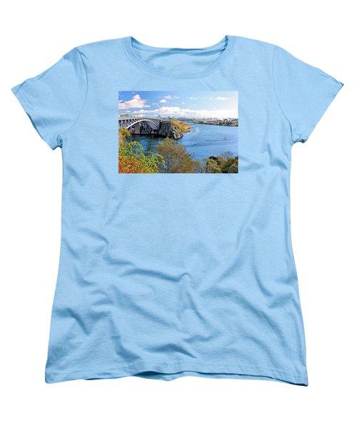 Saint John Women's T-Shirt (Standard Cut) by Kristin Elmquist