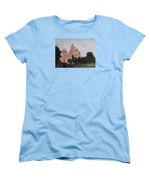 Saint Marko Church  Belgrade  Serbia  Women's T-Shirt (Standard Cut)