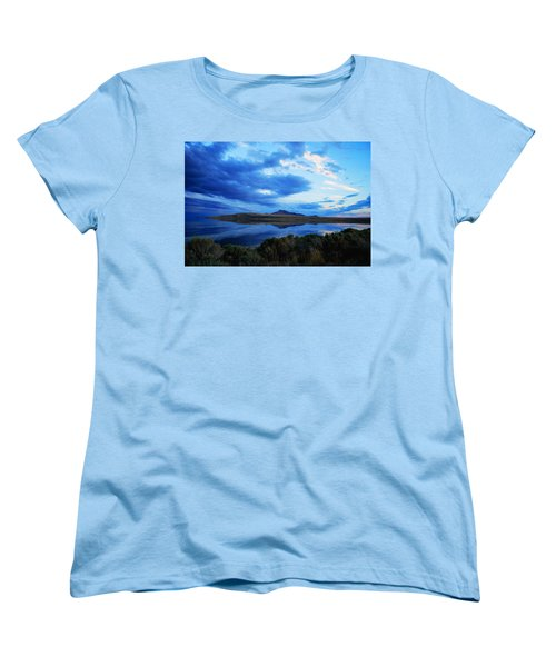Salt Lake Antelope Island Women's T-Shirt (Standard Cut) by Matt Harang