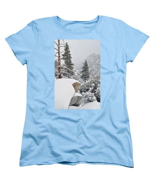 Women's T-Shirt (Standard Cut) featuring the photograph San Jacinto Winter Wilderness by Kyle Hanson