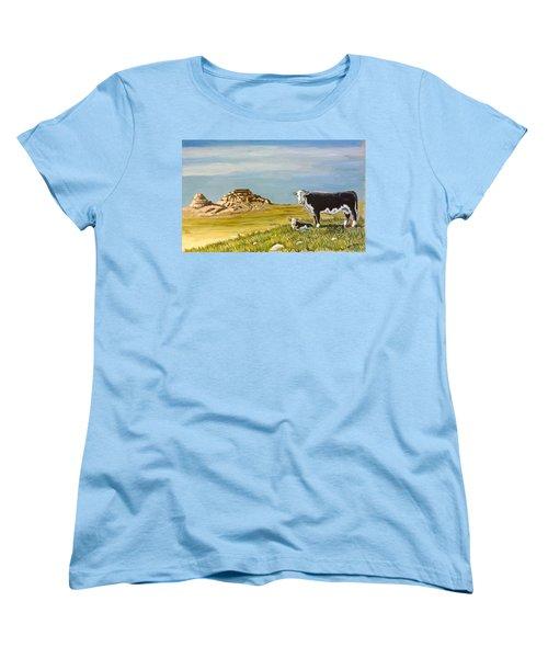 Sandhills Spring Women's T-Shirt (Standard Cut) by Bern Miller
