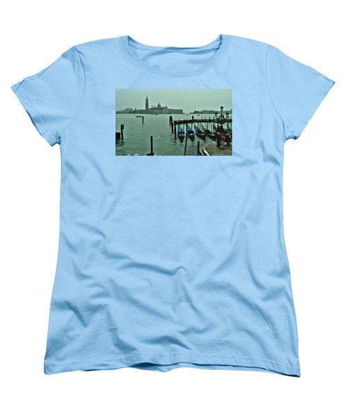 Women's T-Shirt (Standard Cut) featuring the photograph Sanding By by Brian Reaves
