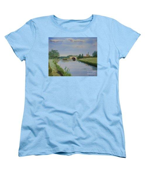 Sandy Bridge Women's T-Shirt (Standard Cut) by Martin Howard