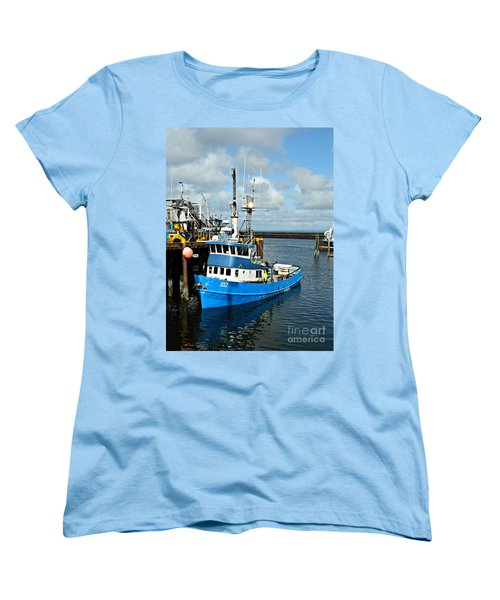 Santa Maria Offload Women's T-Shirt (Standard Cut) by Chalet Roome-Rigdon