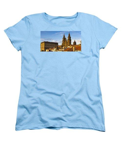 Santiago De Compostela Cathedral Galicia Spain Women's T-Shirt (Standard Cut) by Pablo Avanzini