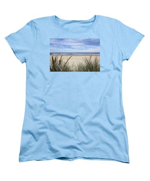 Scenic Oceanview Women's T-Shirt (Standard Cut) by Athena Mckinzie