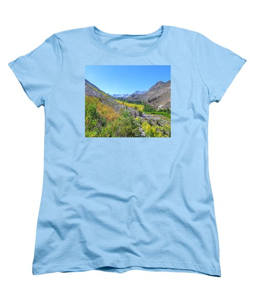 Women's T-Shirt (Standard Cut) featuring the photograph Scenic Peace by Marilyn Diaz