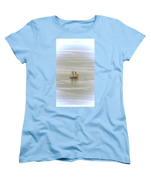 Schooner 1 Women's T-Shirt (Standard Cut) by Joe Faherty