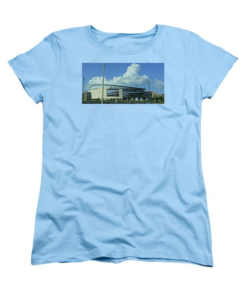 Scottrade Center Home Of The St Louis Blues Women's T-Shirt (Standard Cut) by Greg Kluempers