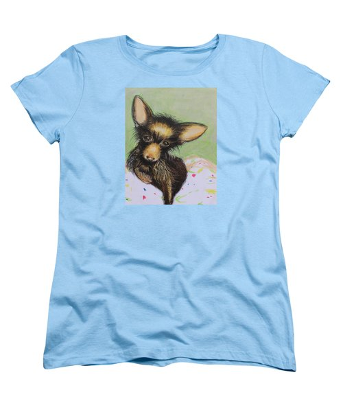 Scrapper Women's T-Shirt (Standard Cut) by Jeanne Fischer