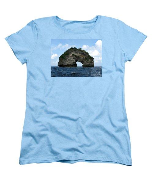 Sea Gate Women's T-Shirt (Standard Cut) by Sergey Lukashin