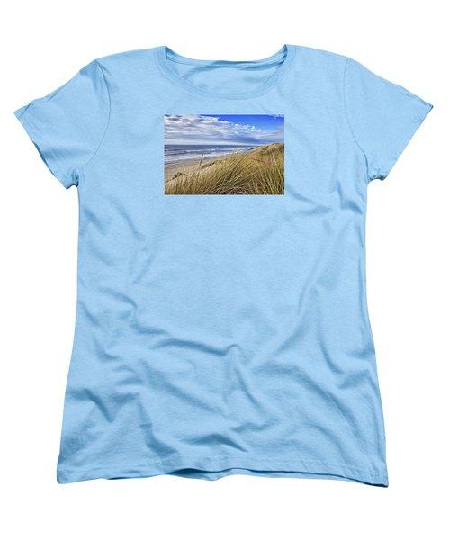 Sea Grass And Sand Dunes Women's T-Shirt (Standard Cut)