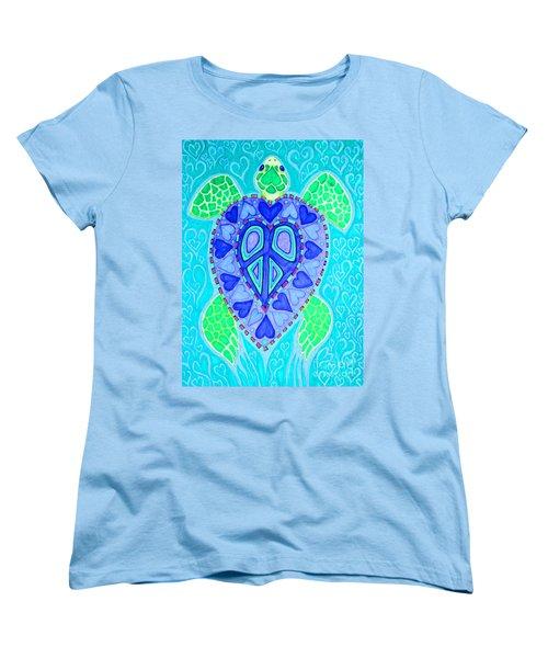 Sea Turtle Swim Women's T-Shirt (Standard Cut)