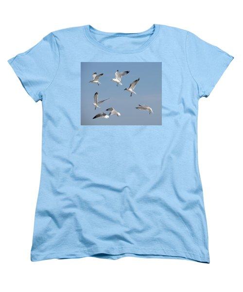 Seagulls See A Cracker Women's T-Shirt (Standard Cut)