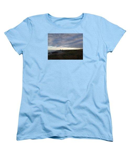 Seascape Women's T-Shirt (Standard Cut) by Robert Nickologianis