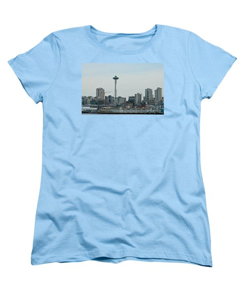 Seattle Washington Women's T-Shirt (Standard Cut) by Chalet Roome-Rigdon