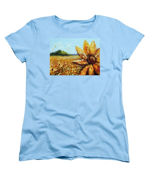 Seeing The Sun Women's T-Shirt (Standard Cut) by Meaghan Troup
