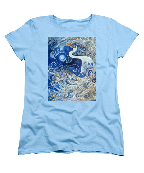 Seeking Balance Women's T-Shirt (Standard Cut) by Leela Payne