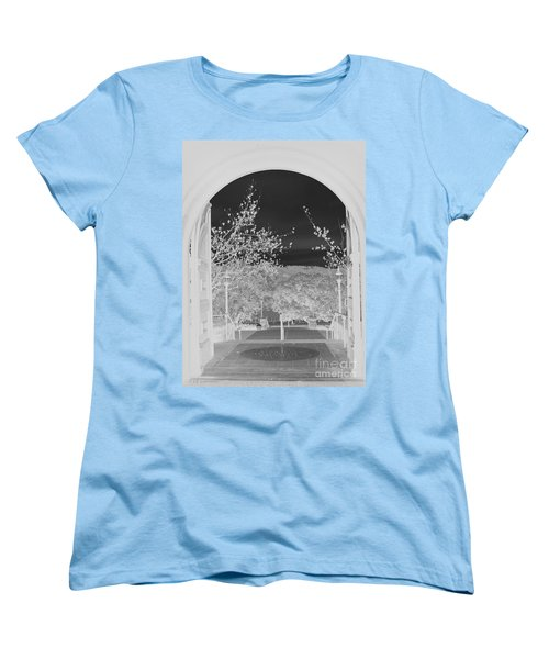 Women's T-Shirt (Standard Cut) featuring the photograph Shades Of Grey by Carol Lynn Coronios