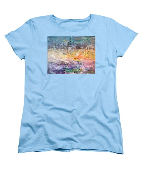 Shallow Water - Sold Women's T-Shirt (Standard Cut) by George Riney