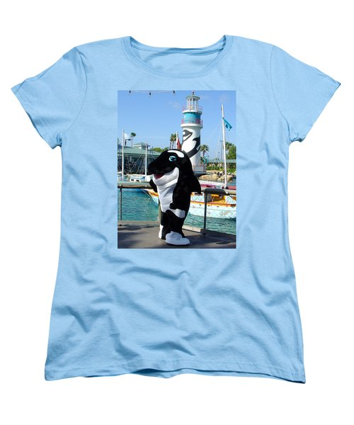 Shamu Women's T-Shirt (Standard Cut) by David Nicholls