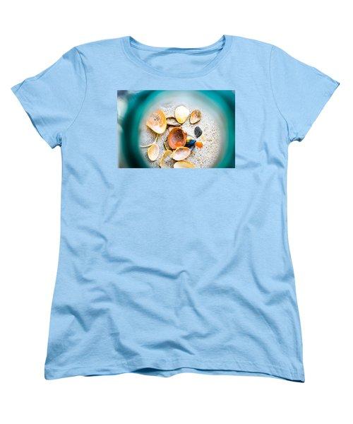 Shell Paradise  Women's T-Shirt (Standard Cut) by Mary Ward