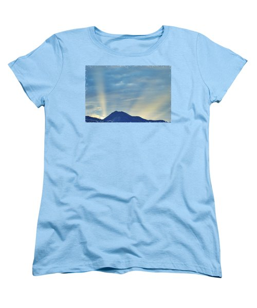 Sierra Sunset Women's T-Shirt (Standard Cut) by Mayhem Mediums