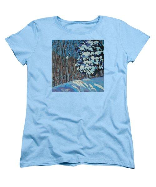 Significant Cedar Women's T-Shirt (Standard Cut) by Phil Chadwick