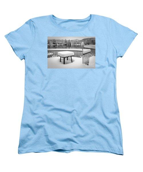 Silence Women's T-Shirt (Standard Cut) by Jola Martysz