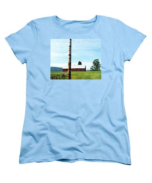 Women's T-Shirt (Standard Cut) featuring the photograph Simplicity by Bobbee Rickard