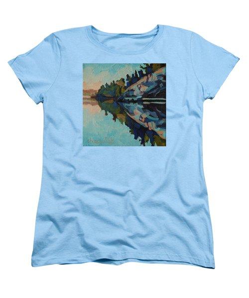 Singleton Cliffs Women's T-Shirt (Standard Cut) by Phil Chadwick