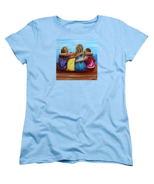 Sisters Women's T-Shirt (Standard Cut) by Debbie Hart