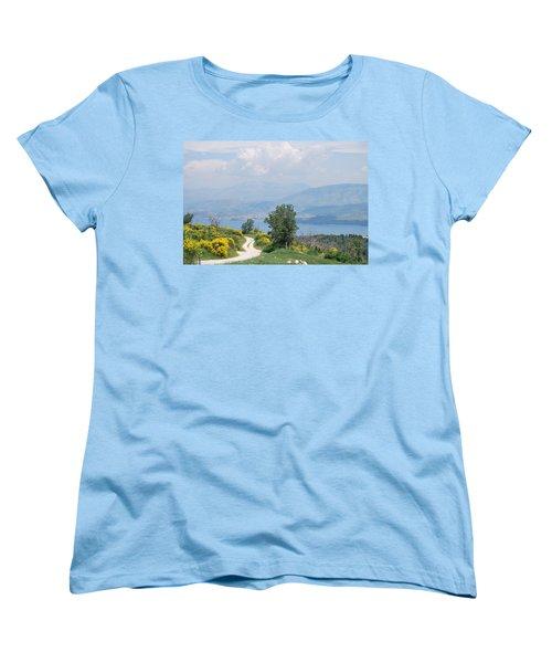 Six Islands 2 Women's T-Shirt (Standard Cut) by George Katechis