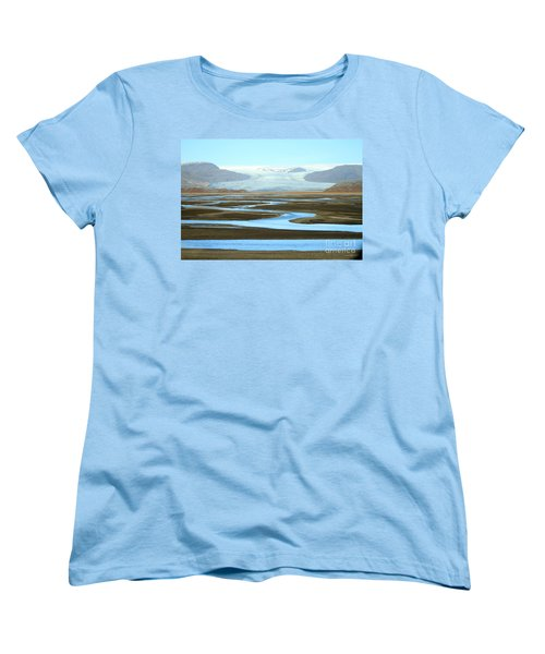 Skaftafell Glacier Women's T-Shirt (Standard Cut)
