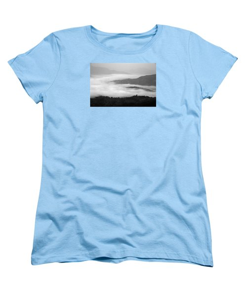 Women's T-Shirt (Standard Cut) featuring the photograph Skc 0064 Heaven On Earth by Sunil Kapadia