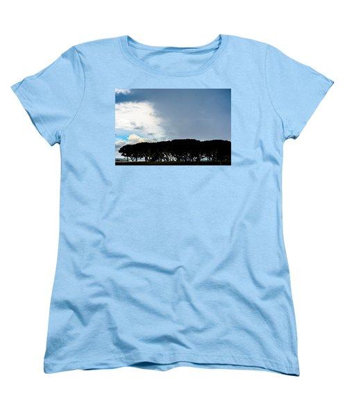 Sky Half Full Women's T-Shirt (Standard Cut) by Mary Ward