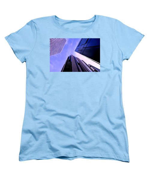 Skyscraper Angles Women's T-Shirt (Standard Cut) by Matt Harang