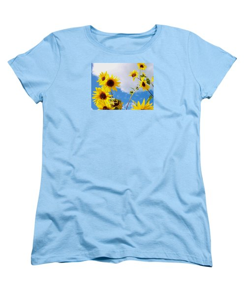 Women's T-Shirt (Standard Cut) featuring the photograph Smile Down On Me by Mary Wolf