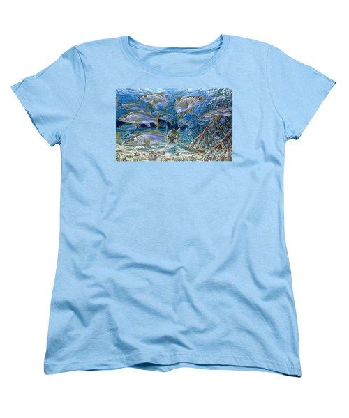 Snook Cruise In006 Women's T-Shirt (Standard Cut) by Carey Chen