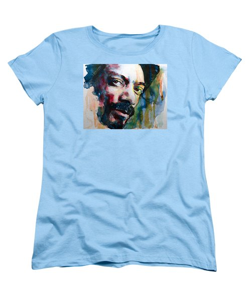 Snoop Dogg Women's T-Shirt (Standard Cut) by Laur Iduc