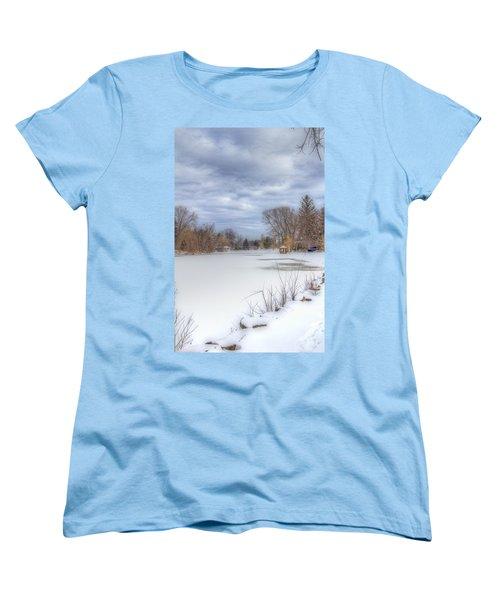 Snowy Lake Women's T-Shirt (Standard Cut)