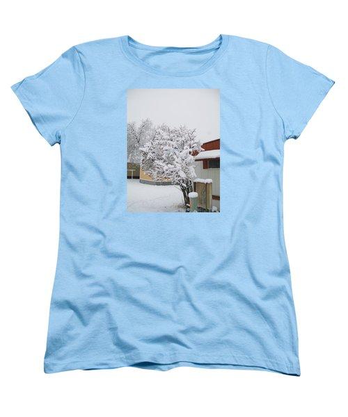 Snowy Lilac Women's T-Shirt (Standard Cut) by Jewel Hengen