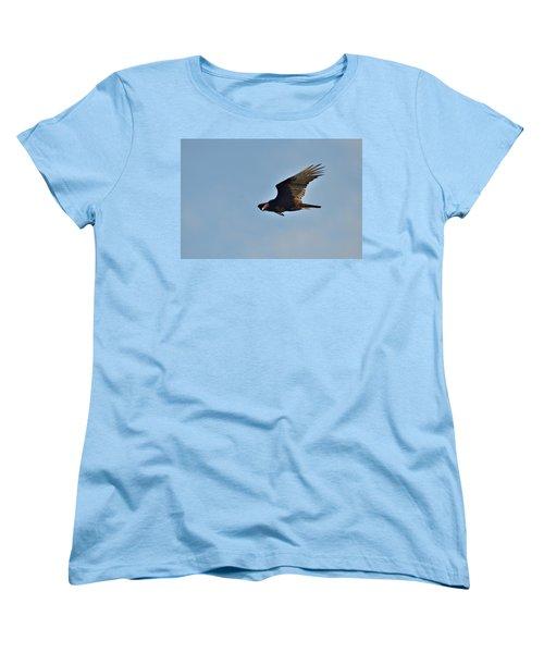 Women's T-Shirt (Standard Cut) featuring the photograph Soaring by David Porteus