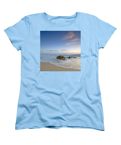 Soft Blue Skies Women's T-Shirt (Standard Cut) by Peter Tellone