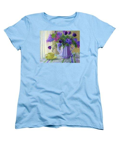Soft Light Women's T-Shirt (Standard Cut) by Bonnie Mason