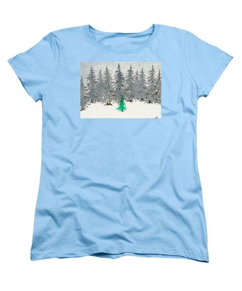 Solitary Women's T-Shirt (Standard Cut) by Stefanie Forck