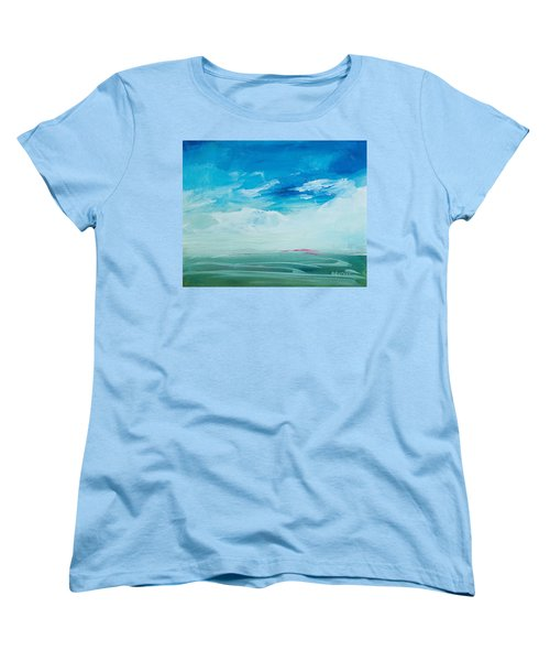 Somewhere Beyond The Sea Women's T-Shirt (Standard Cut) by Lee Beuther