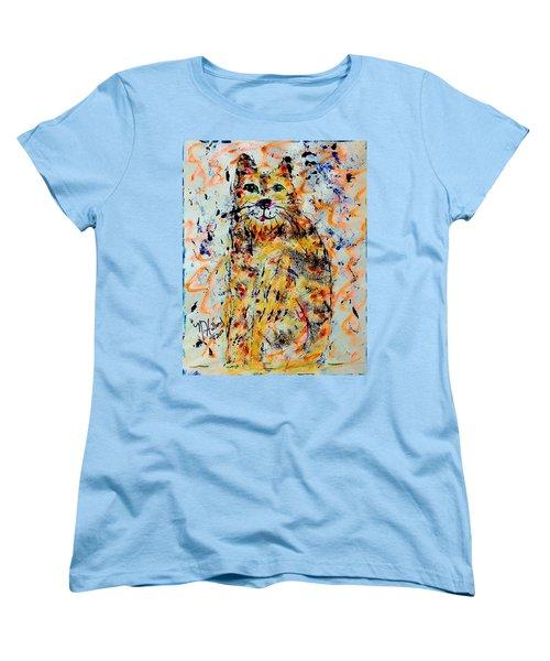 Sophisticated Cat 3 Women's T-Shirt (Standard Cut) by Natalie Holland