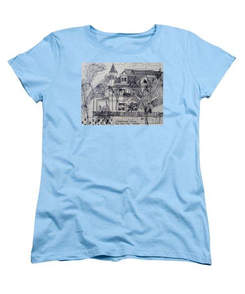 Southernmost House  Key West Florida Women's T-Shirt (Standard Cut)